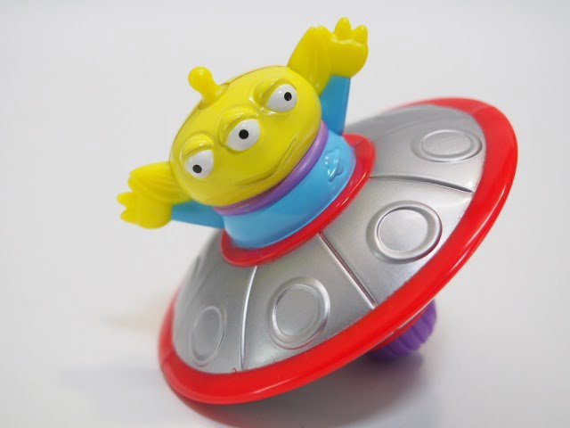TOY STORY2 Spinning Alien – McDonalds 1999