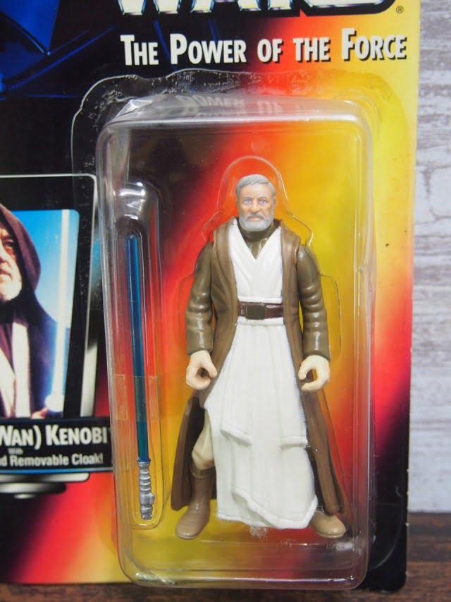 STAR WARSThe Power of The ForceBen (Obi-Wan)Kenobi Kenner Figure 1995