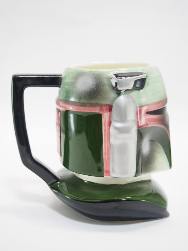 Boba Fett Figural Ceramic Mug Applause