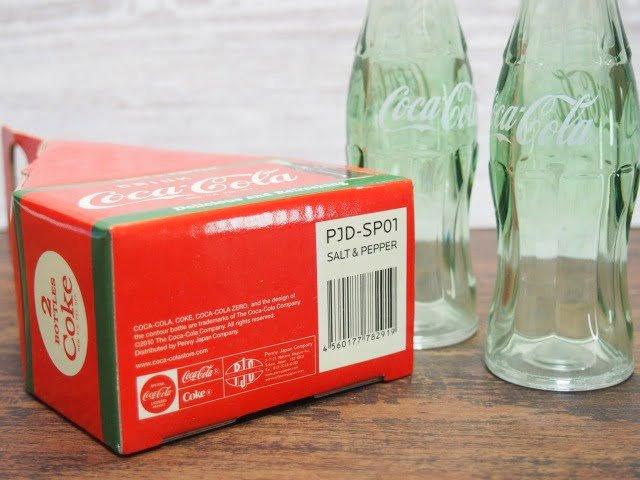 コカ・コーラ ソルト&ペッパーの箱の裏側表示