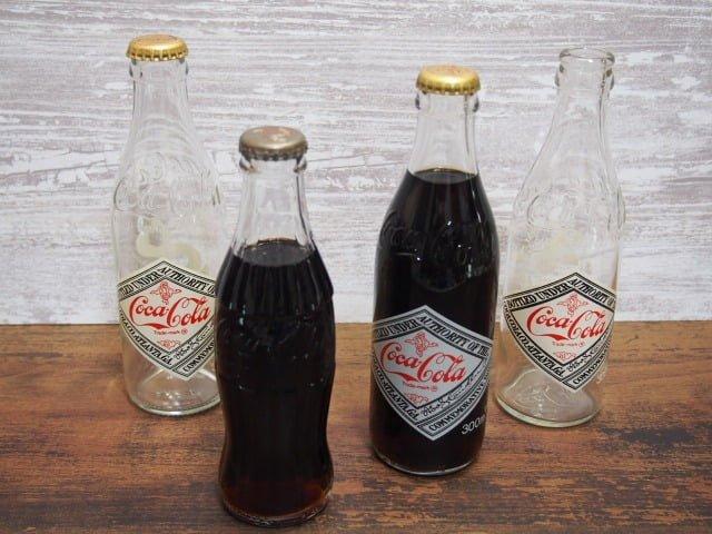 コカ・コーラヴィンテージ ボトル4本セット
