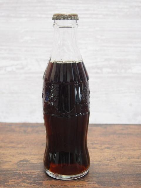 コカ・コーラヴィンテージボトル(フランス-1981年)の左側