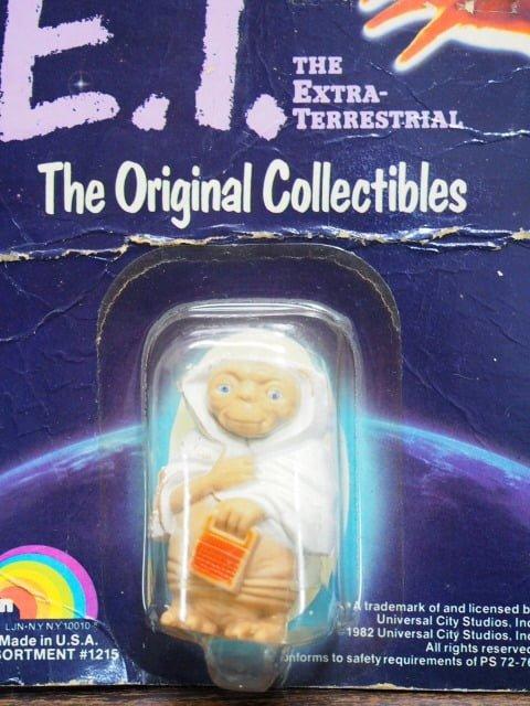 E.T.オリジナルコレクタブルフィギュア – LJN Toys Ltd.