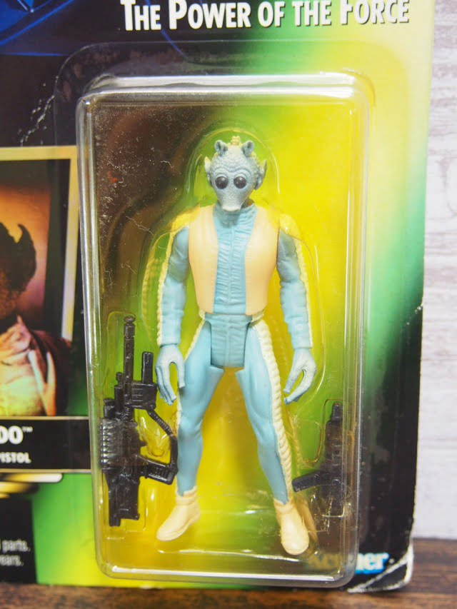 STAR WARS The Power of The Force Greedo Kenner Figure 1995