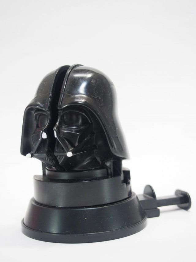 McDonald's Darth Vader Head Spinning toy