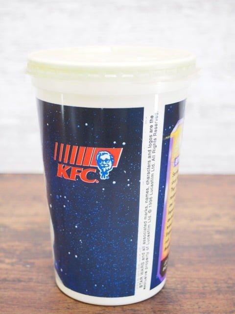 KFC スターウォーズ ドリンクカップ:ストームトルーパーの裏側