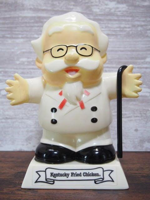 KFC カーネルサンダース貯金箱 (1991's)