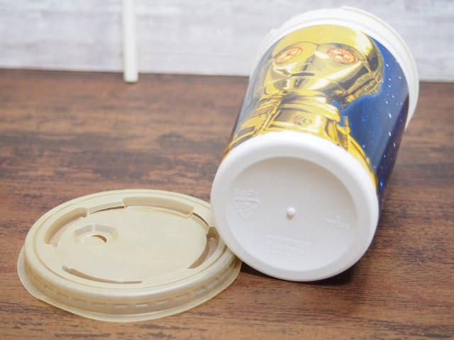 KFC スターウォーズ ドリンクカップ:C-3POの底部分
