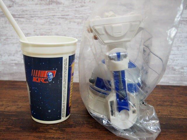 KFC スター・ウォーズ トリロジー【1996年】スター・ウォーズボトル – R2-D2