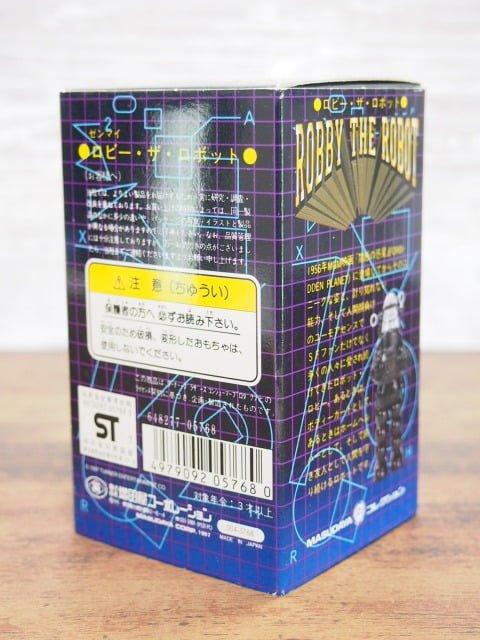 増田屋 ロビー・ザ・ロボットの外箱の裏側