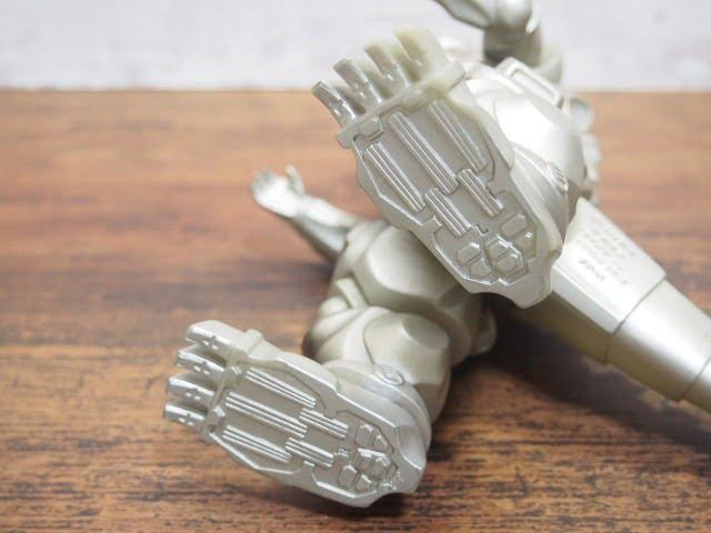 バンダイ メカゴジラ ソフビ(1993年製)の足裏