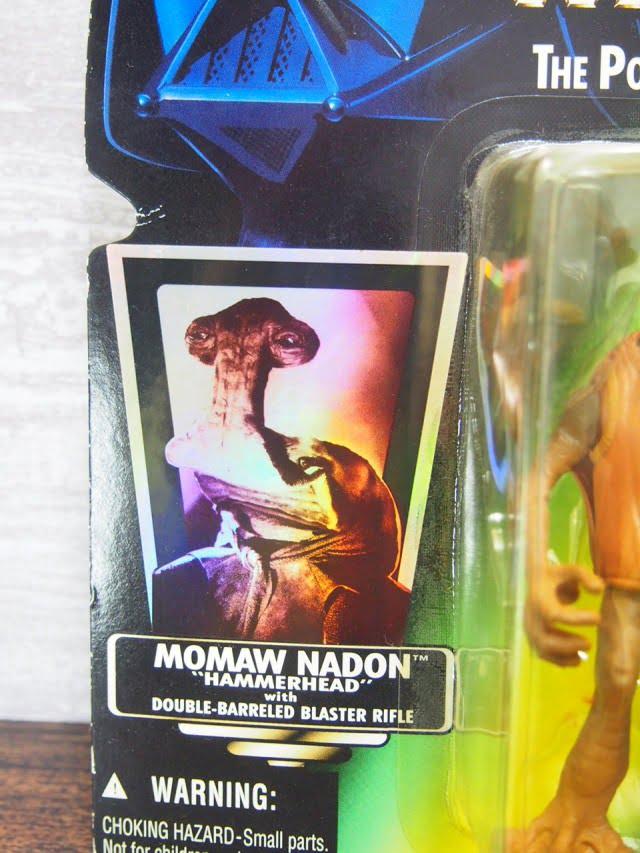 スター・ウォーズ モモー・ネイドン(ハンマーヘッド)ケナー フィギュア 1996-stock.no.1