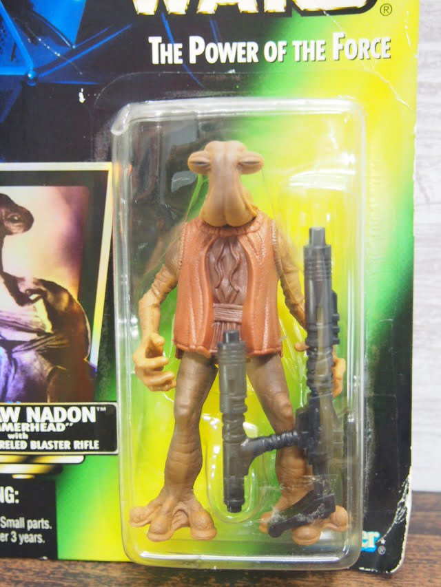 STAR WARS MOMAW NADON KENNER FIGURE 1996-stock.no.2