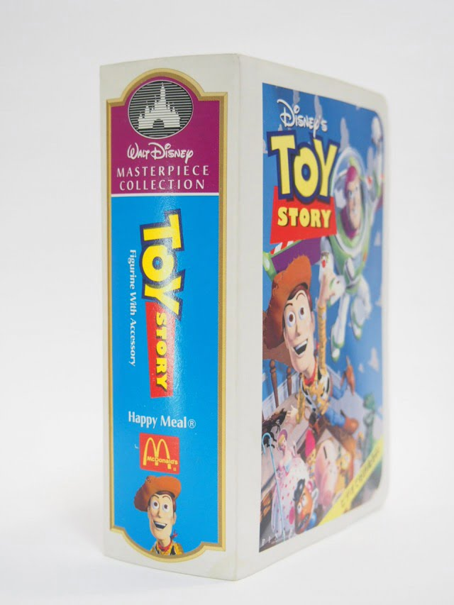 Disney Masterpiece Collection Toy Story McDonald's Happy Meal Toy-Woody