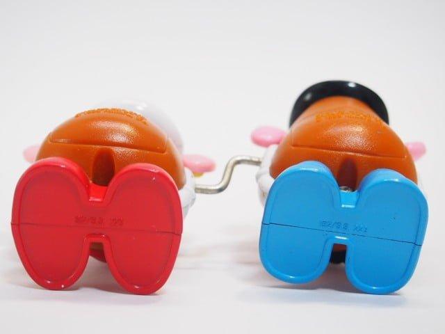 TOY STORY マクドナルド ハッピーセット Mr.ポテトヘッド&Mrs.ポテトヘッドの靴の裏側