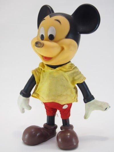 ミッキーマウスのR.DAKIN&CO.のソフトフィギア