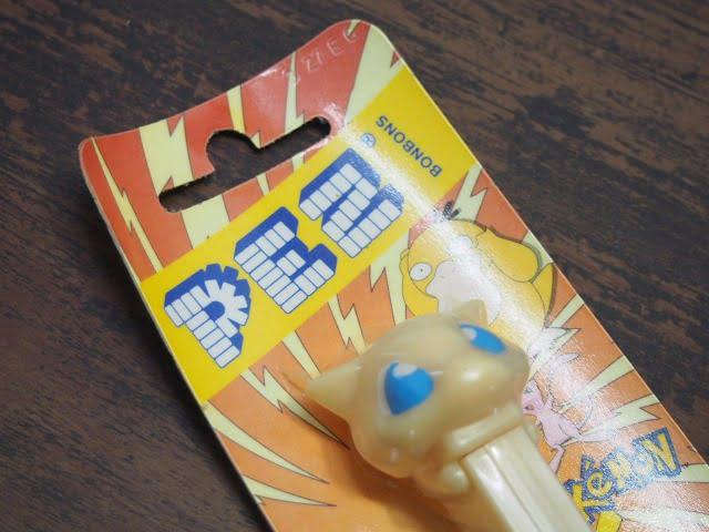 PEZ ペッツ – ポケモン ミュウのパッケージ表側上部