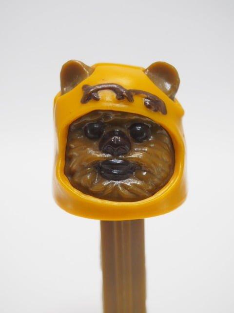 PEZ – Ewok(イウォーク) 1997年製のヘッド部分