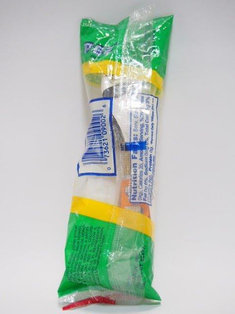 PEZ 「STAR WARS・レイヤ姫」のキャンディーディスペンサー 1999年製のパッケージ裏側