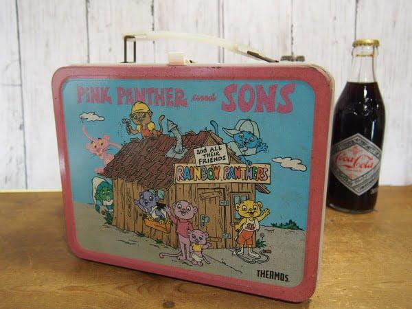 ピンクパンサー ランチボックス(THERMOS)とコカコーラ