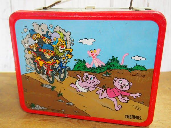 ピンクパンサー ランチボックス(THERMOS)の裏面