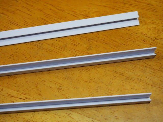 プラスチックモールの形状・断面