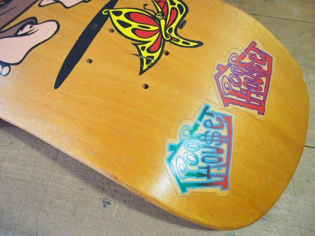 Poorhouse Skateboards Deck - Max Evans