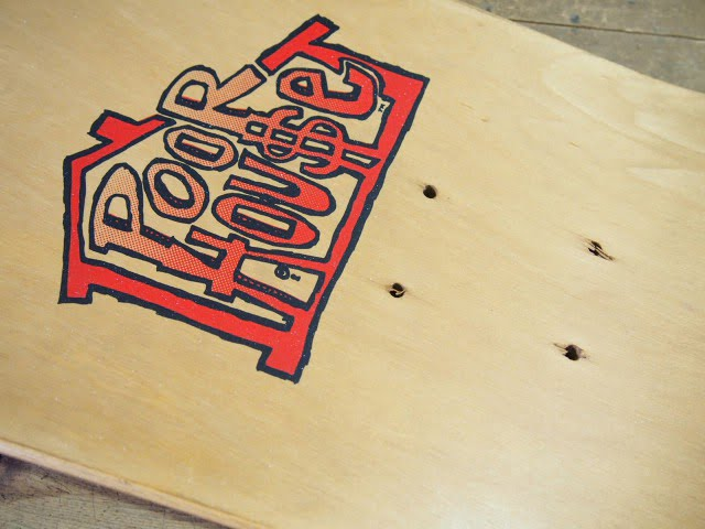Poorhouse Skateboards - Max Evansのデッキ