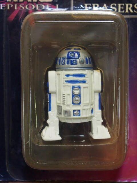 R2-D2 – スターウォーズ フィギュア消しゴム Aセット