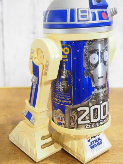 PEPSI R2-D2缶ホルダーの右横側
