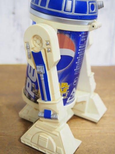 PEPSI R2-D2缶ホルダーの左横側