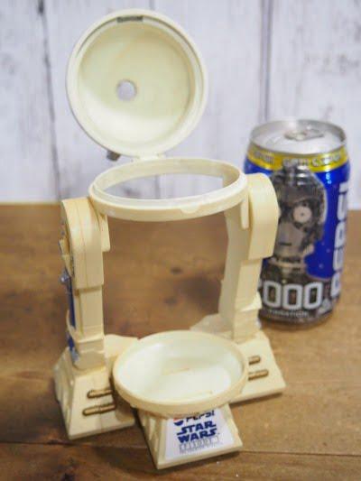 PEPSI R2-D2缶ホルダーの缶をセットしてない状態