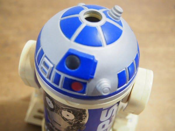 PEPSI R2-D2缶ホルダーの上部