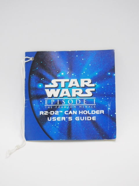 R2-D2 CAN HOLDER USER'S GUIDE