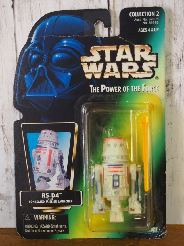 スターウォーズ R5-D4 フィギュア The Power of the Force Kenner 1996