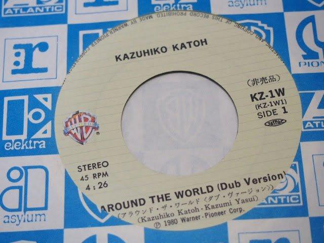 AROUND THE WORLD (Dub Version) のラベル