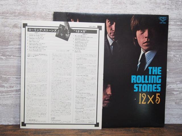 12×5(ローリング・ストーンズ)のライナーノーツ裏側