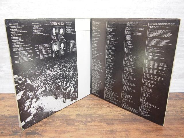 1975 4.13. / 燃えつきる- キャロル・ラスト・ライブ!!のライナーノーツ