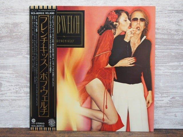 フレンチ・キッス(ボブ・ウェルチ)の中古LPレコードのジャケット