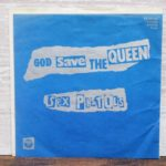 ゴッド・セイブ・ザ・クイーン(セックス・ピストルズ)の中古レコードのジャケット