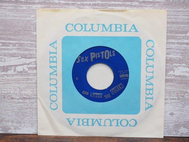 ゴッド・セイブ・ザ・クイーン(セックス・ピストルズ)のレコード袋