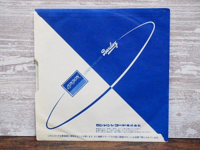 サマーツアー(RCサクセション)の中古レコードの内袋裏側