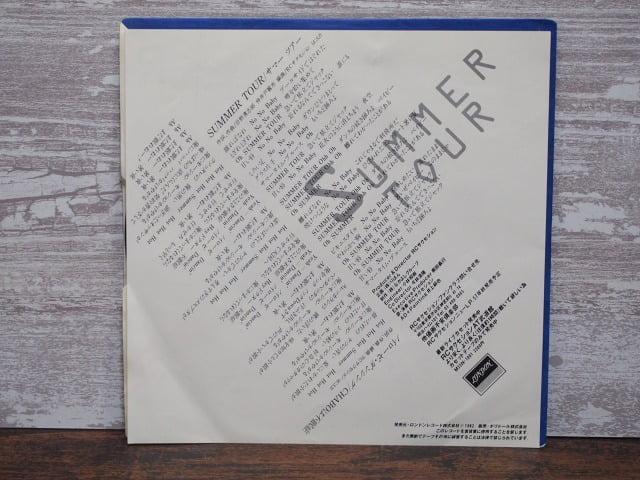 サマーツアー(RCサクセション)の中古レコードのライナーノーツ