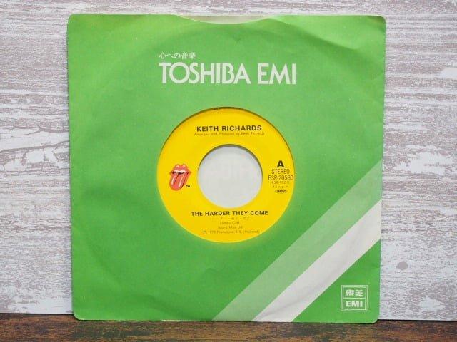 ハーダー・ゼイ・カム(キース・リチャーズ)のレコード袋