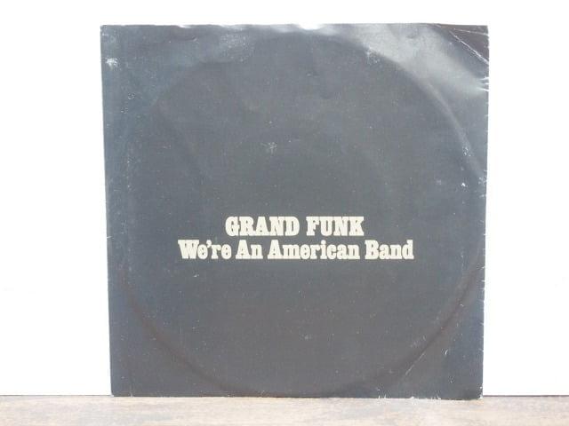 アメリカン・バンド(グランド・ファンク・レイルロード)のレコード袋