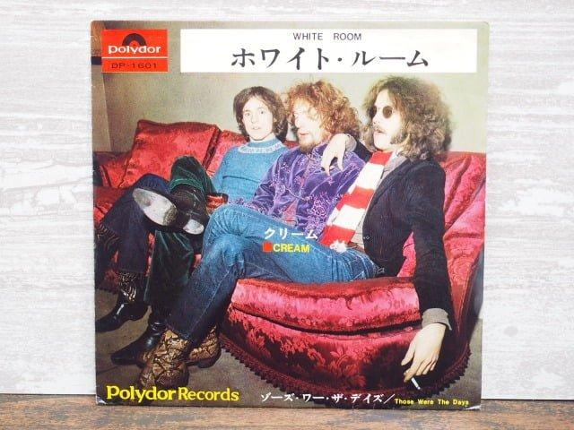 ホワイト・ルーム(クリーム)の 中古レコードのジャケット