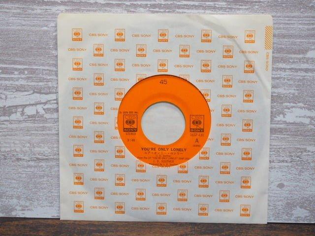 ユア・オンリー・ロンリー(J.D.サウザー)のレコード袋