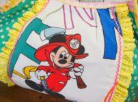 ミッキーの手作りトートバッグ