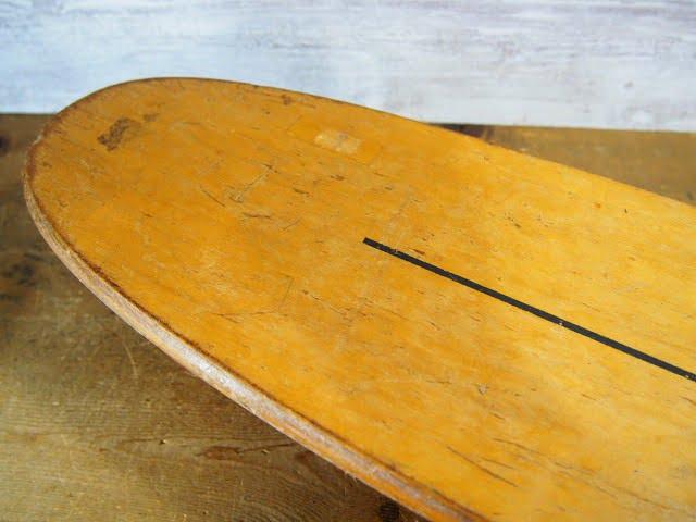 ビンテージウッドスケートボード INDY 500 SPORT FUN INCのソールデッキ