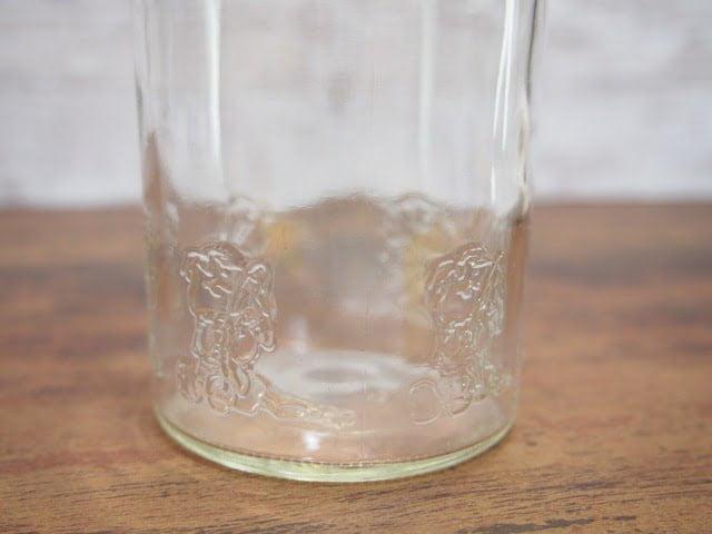 スヌーピー グラスの下部写真-1